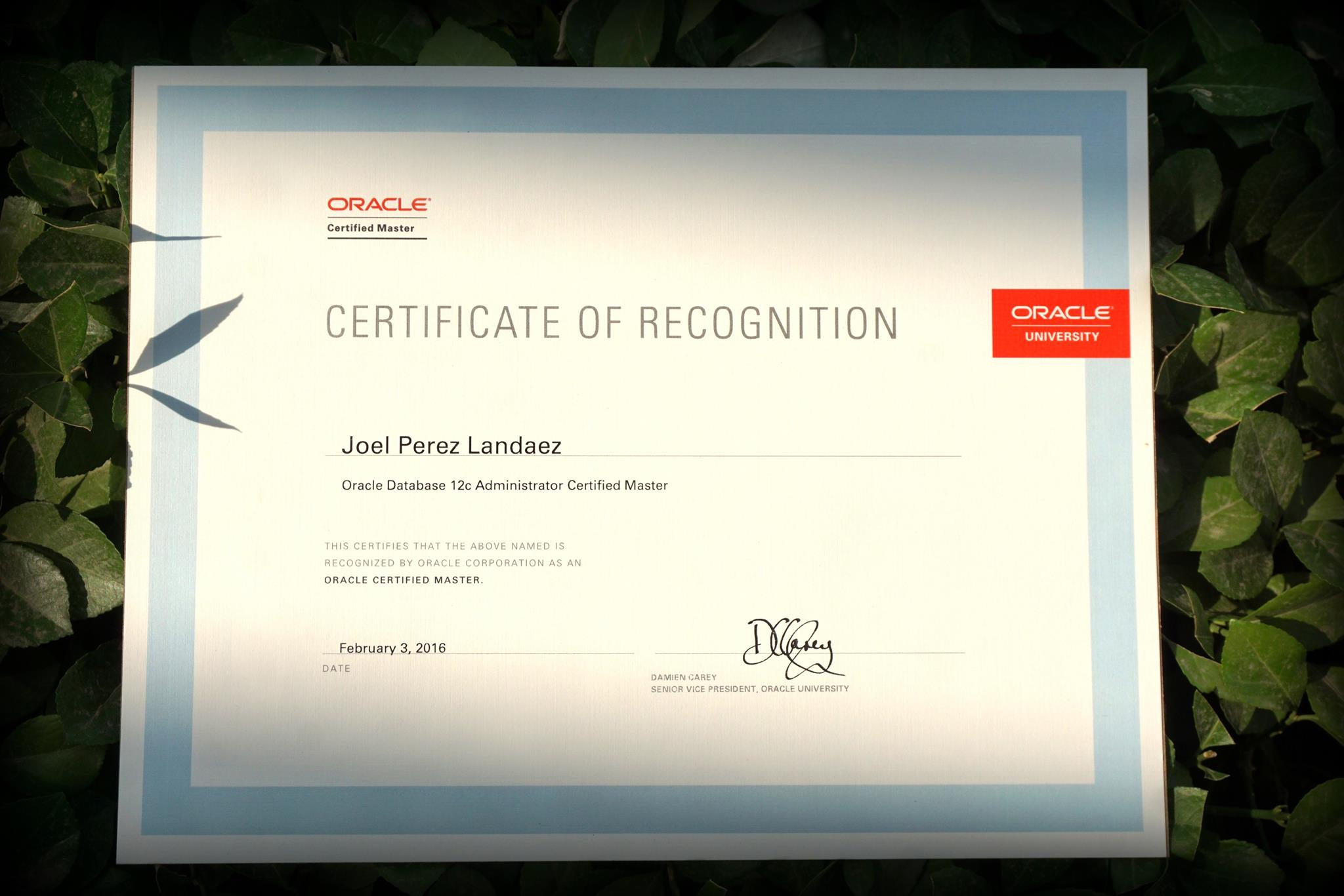 How to Become OCM12c  !! ( Oracle Certified Master 12c ) – Enmotech Blog